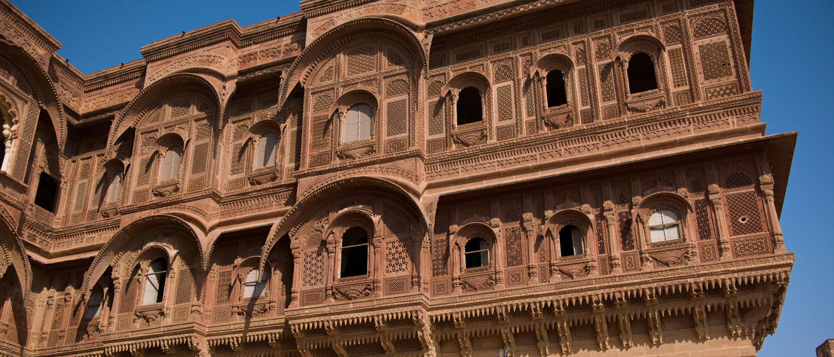 Mehrangarh Fort, Jodhpur, Rajasthan - by Christopher Wood Perched