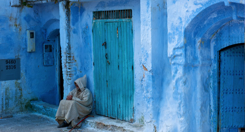 Feature-Street-Corner-Chefchaouen-Morocco-by-Chris-Wood