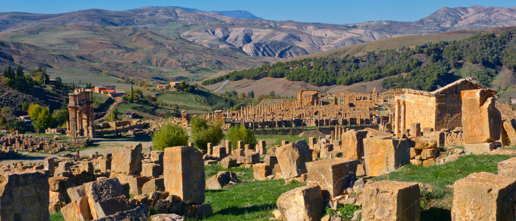 Roman city of Djemila, Setif, Algeria - photo by Kristen Hellstrom