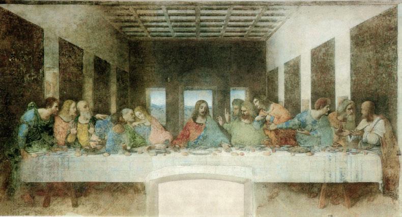 Web---Leonardo-da-Vinci-(1452-1519)---The-Last-Supper-(1495-1498)