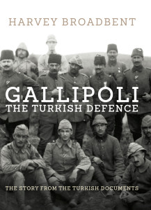 Gallipoli The Turkish Defence book cover