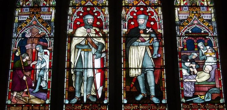 Knights Templar & Hospitaller, Church of St Andrew, Temple Grafton, Warwickshire