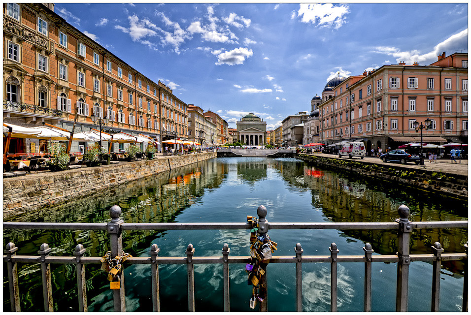 Trieste canals