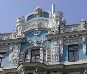 Riga face fasade