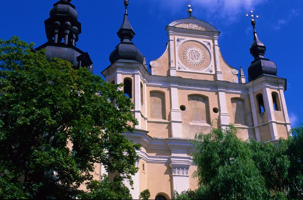 Vilnius, Baroque church