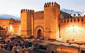Fez wall and medina