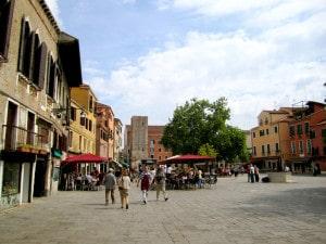 Campo Santa Margherita, Venice, Italy. Credit: La Citta Vita via Flickr